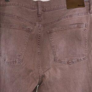 Madewell Skinny Skinny Crop High Waist Jeans